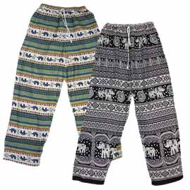 Thai Patterned Comfy Trousers