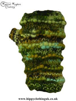 Green-Wool-Wrist-Warmers