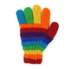 Rainbow-Wool-Gloves