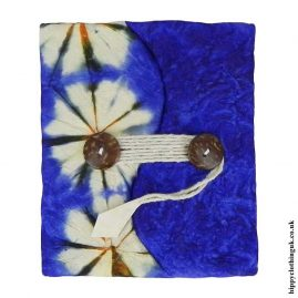 Blue-Tie-Dyed-Lokta-Paper-Notebook-1