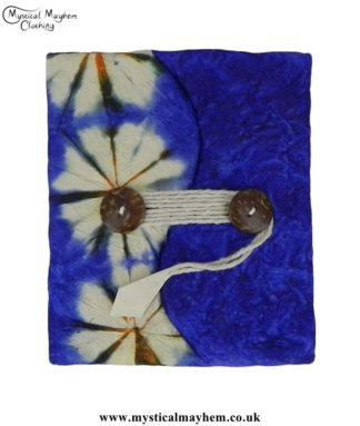 Blue-Tie-Dyed-Lokta-Paper-Notebook