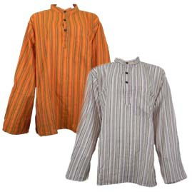 Collarless Grandad Shirts