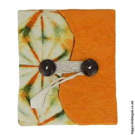 Orange-Tie-Dyed-Lokta-Paper-Notebook-1