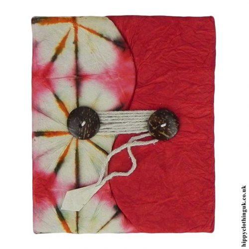 Red-Tie-Dye-Lokta-Notebook