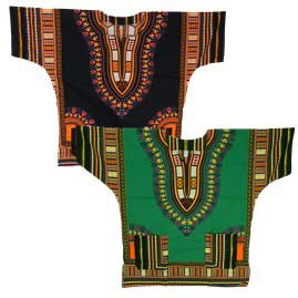 Thai Short Sleeve Dashiki Shirts Top