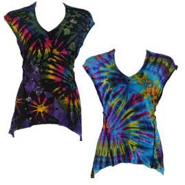 Womens Festival Tie Dye T-Shirt