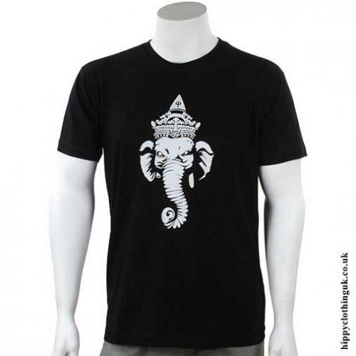 Black-Ganesh-T-shirt
