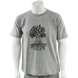 Grey-Buddha-Tree-T-Shirt