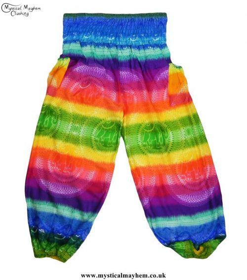 Multicoloured-Hippy-Style-Harem-Genie-Trousers