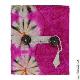 Pink-Tie-Dye-Lokta-Notebook