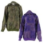 Overdyed-Patchwork-Hooded-Shirts