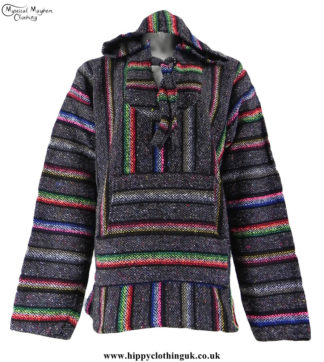 Mexican-Jerga-Baja-Hooded-Hippy-Festival-Top-Light-Grey-and-Colour