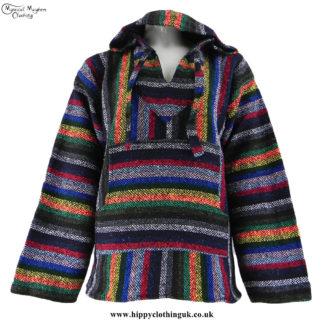 Multicolour-Mexican-Jerga-Baja-Hooded-Hippy-Festival-Top