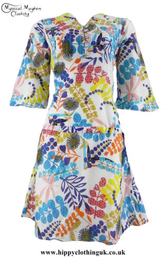 Colourful-Retro-Hippy-Festival-Dress