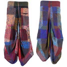 Gringo Patchwork Harem Style Skirts
