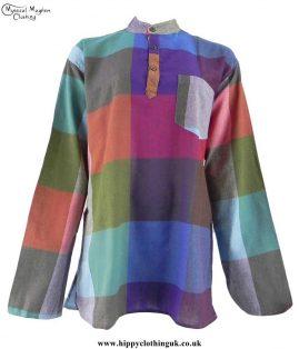 Multicoloured-Cotton-Check-Shirt