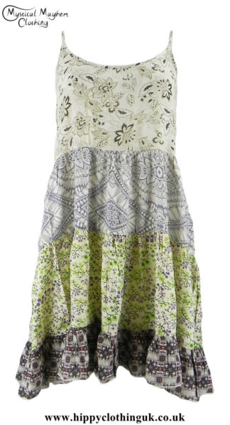 Multicoloured-Tiered-Hippy-Festival-Dress-Top