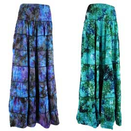 Tie Dye Two in One Dress/Skirt