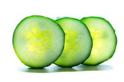 10 home remedies for treating sunburn - Cucumber