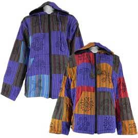Cotton Patchwork Jacket