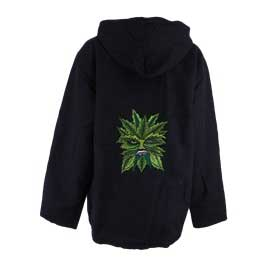 Green man Cotton Hooded Jacket