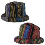Hippy Rimmed Hats - Gheri Cotton Hats
