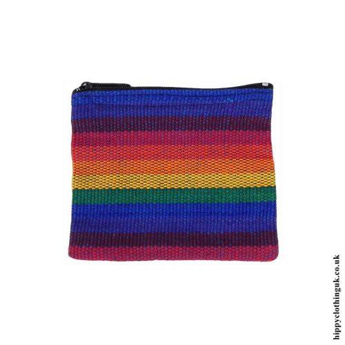 Multicoloured-Gheri-Cotton-Coin-Purse-New