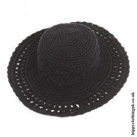 Black-Crochet-Hippy-Sun-Hat-a
