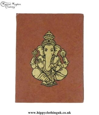 Brown-Lokta-Paper-Ganesh-Notebook