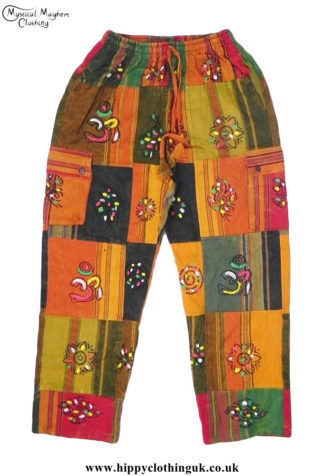 Patchwork-Hippy-Festival-Trousers-Multicoloured
