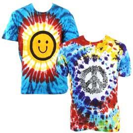 Printed Pattern Tie Dye T-Shirts