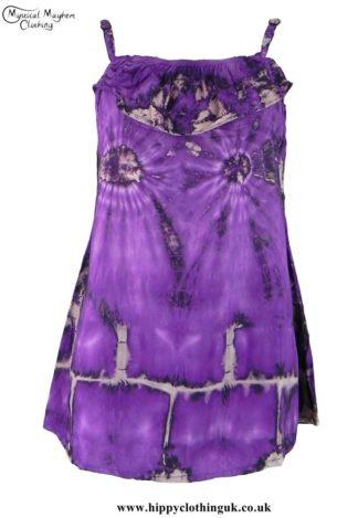 Purple-Tie-Dye-Blouse