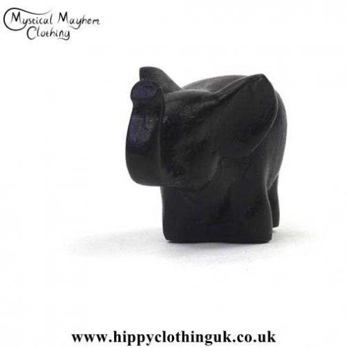 Small-Resin-Elephant-Good-Luck-Pocket-Charm---Left-Angle