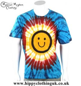 Smiley-Tie-Dye-T-Shirt