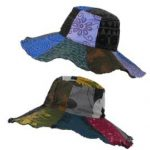 Hippy Sun Hats - Patchwork Hats
