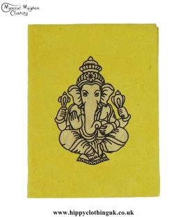 Yellow-Lokta-Paper-Ganesh-Notebook