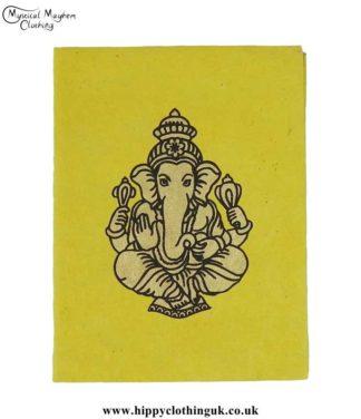 Yellow-Lokta-Paper-Ganesh-Notebook