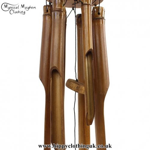 Bamboo Windchime from Indonesia, Chime Detail