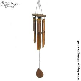 Bamboo Windchime from Indonesia, Medium