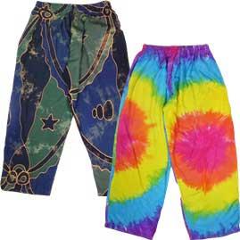 Batik Rayon Trousers