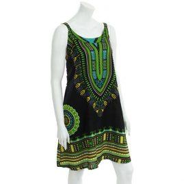 Black-and-Green-Cotton-Dashiki-Dress