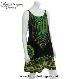Black-and-Green-Cotton-Dashiki-Dress