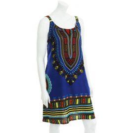 Blue-Cotton-Dashiki-Dress