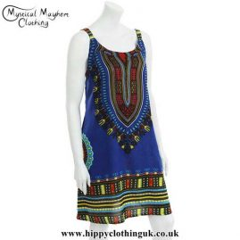 Blue-Cotton-Dashiki-Dress