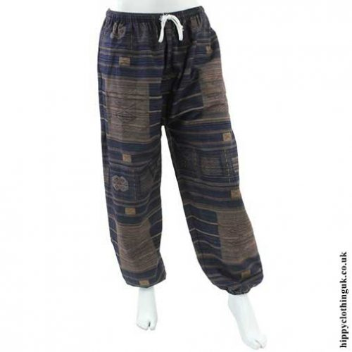 Dark-Blue-Cotton-Trousers