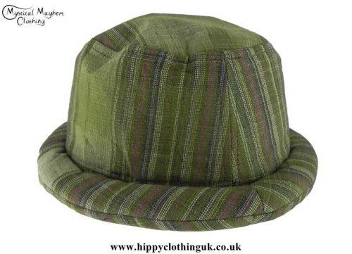 Green-Thai-Cotton-Hippy-Rimmed-Hat