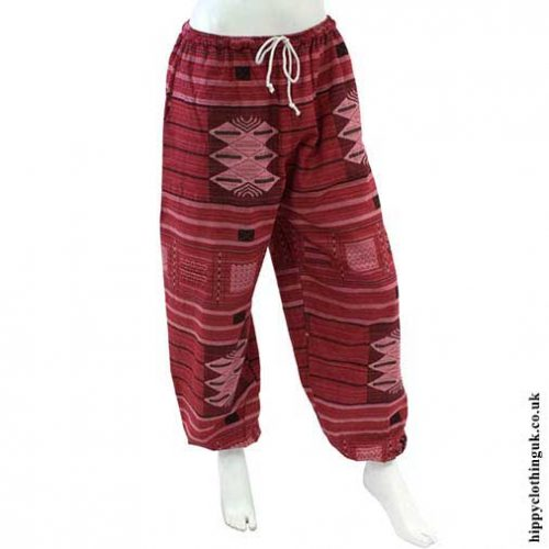Red-Cotton-Trousers