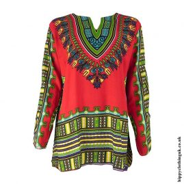 Red-Long-Sleeve-Dashiki-Tunic