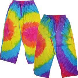 Tie Dye Batik Trousers