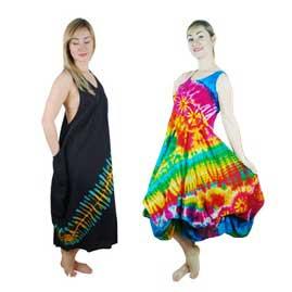 Cotton Tie Dye Dresses